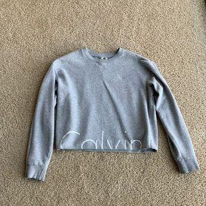 Calvin Klein Urban Outfitters Crop Sweatshirt